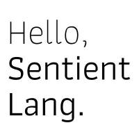 @sentient-lang