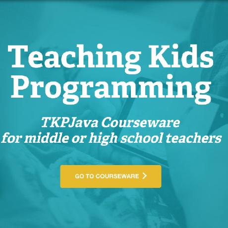 TeachingKidsProgramming.Java