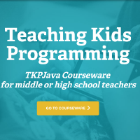TeachingKidsProgramming.Java