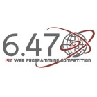 MIT IAP Web Programming Competition