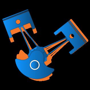 Tutorial 1 Slider Crank Mechanism · zanoni-mbdyn/blendyn